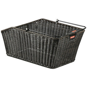 KlickFix Structura GT Luggage Carrier Basket With Basket Clip black